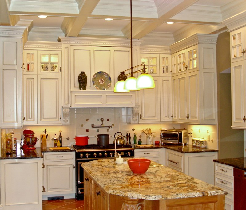 Contemporary Kitchen Cabinets To The Ceiling Wonderfully Made